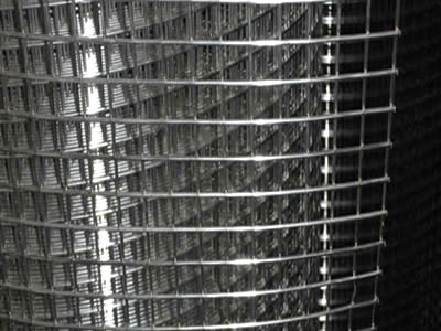 A roll of stainless steel welded wire mesh with small rectangle mesh.